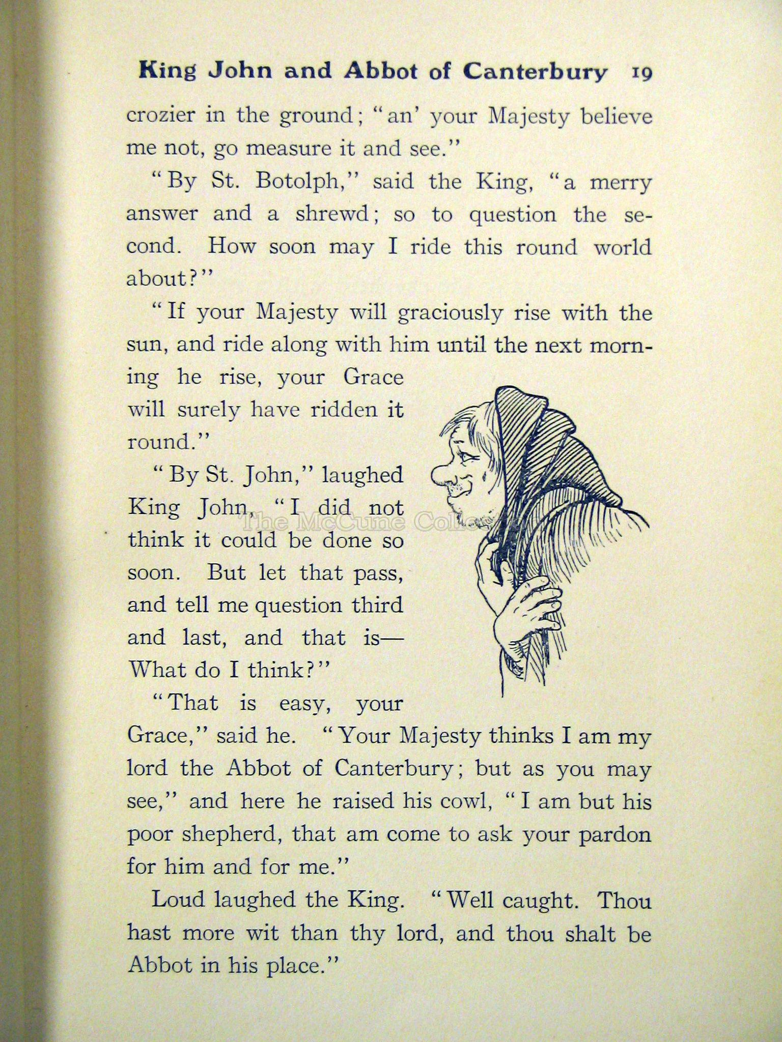 The McCune Collection: Forty Famous Fairy Tales on page title,